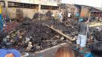 VES: denunciarán a comerciantes de mercado que se incendió - Noticias de guido inigo
