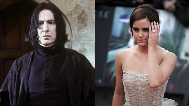 Emma Watson se despidió de Alan Rickman en Facebook