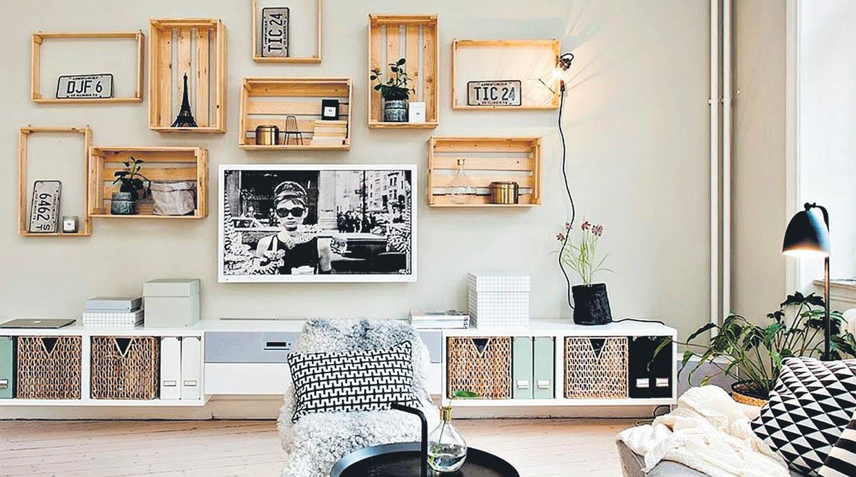 Decora tu casa con cajas y mantenla siempre bien for Decoracion de interiores reciclado