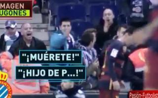 La reacción de Messi tras recibir duros insultos de los hinchas