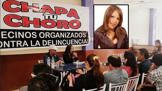'Chapa tu choro': promotora no va con PPK y dialoga con Acuña