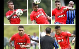 Paolo Guerrero lucha contra la frustración en el Flamengo