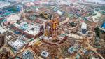 Así va la construcción del primer parque Disney en China - Noticias de parque tematico