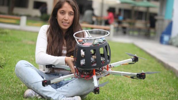 Ingeniera peruana competirá con dron por premio de US$ 1 millón