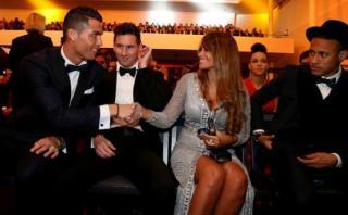Habla el fotógrafo de la famosa foto entre CR7 y novia de Messi