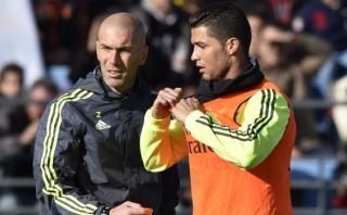 """Cristiano: """"Hay más empatía con Zidane que con Rafa Benítez"""""""