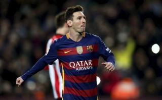 Lionel Messi: ¿Por qué fue reemplazado en el segundo tiempo?