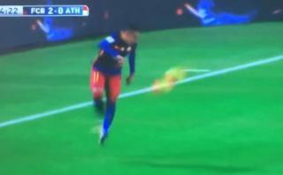 Neymar lo hizo otra vez: mira su magnífico control de taco
