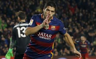 Luis Suárez lidera en solitario los goleadores de la Liga