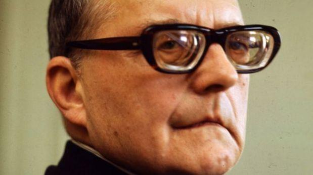 Dmitri Shostakovich (1906 - 1975) cayó en desgracia durante el régimen estalinista.(Foto: Getty Images)