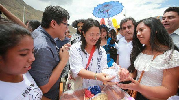 Keiko afirma que renovación en fujimorismo redujo su antivoto