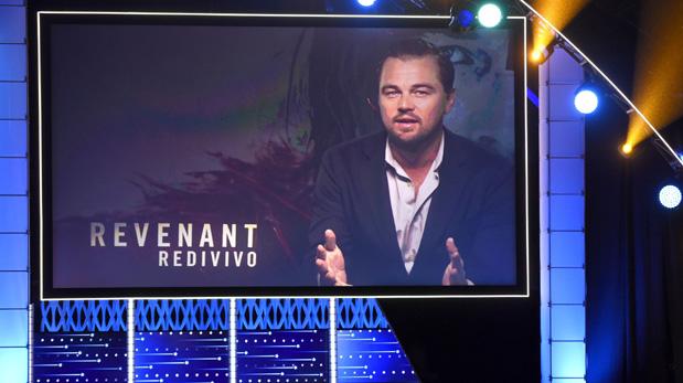 Leonardo DiCaprio no asistió a la ceremonia de los Critics' Choice Awards. Agradeció con una grabación. (Foto: AP)