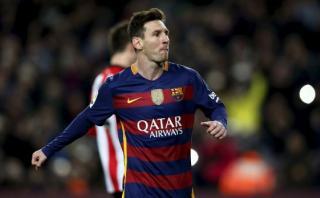 Lionel Messi: se descartó lesión muscular de astro de Barcelona