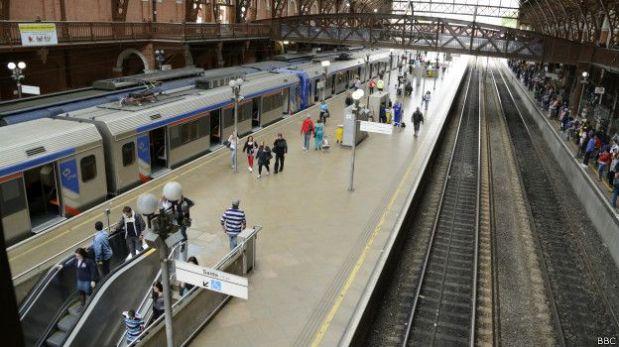 La red ferroviaria brasileña está en expansión. (Foto: BBC)