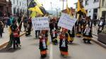 Fieles del Señor de Qoyllur Riti marchan contra minería ilegal - Noticias de ausangate