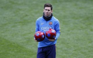 Lionel Messi no entrenó: ¿Jugará contra Athletic de Bilbao?