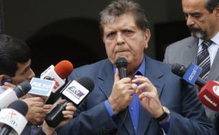 """Alan García: """"Si hubo un error en Bagua fue alargar el diálogo"""""""