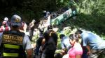 Junín: policía confirma muerte de 17 personas por caída de bus - Noticias de provincia de chanchamayo