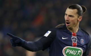 Ibrahimovic clasificó al PSG a octavos de la Copa de Francia