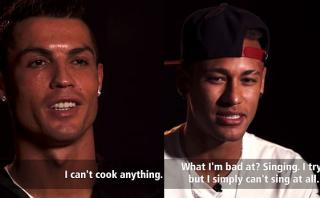Cristiano Ronaldo y Neymar confiesan sus defectos (VIDEO)