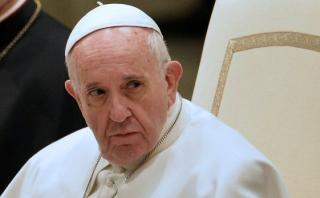 """Francisco a élite financiera mundial: """"No olviden a los pobres"""""""