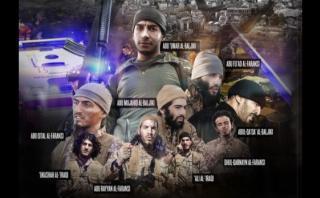 El Estado Islámico glorifica a los 9 terroristas de París