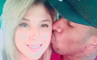 Yahaira Plasencia y Jefferson Farfán celebraron 4 meses de amor