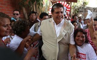 Alan García: Cambios en Ley de Partidos no afectan elecciones