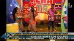 """""""Verano Extremo"""": modelos protagonizan bochornosa pelea [VIDEO] - Noticias de bienvenida la tarde"""