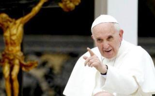 Papa Francisco pide a políticos tener cuidado con lo que dicen