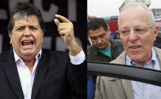 Alan García y PPK se lanzan duras críticas