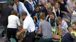 El suegro de Andy Murray se desvaneció en el Australian Open - Noticias de andy kim