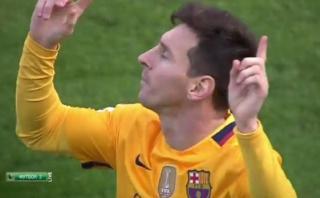 Lionel Messi marcó espléndido gol de 'tijera' con el Barcelona
