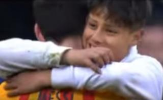 Messi y su increíble gesto con hincha que se metió a la cancha