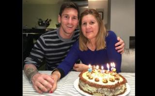 Lionel Messi festejó con tierna foto el cumpleaños de su madre