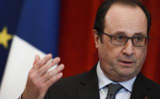 """Hollande está decidido a """"golpear más"""" al Estado Islámico"""