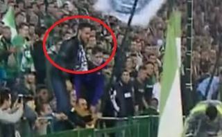 Cristiano Ronaldo: hincha del Real Betis escupió al portugués