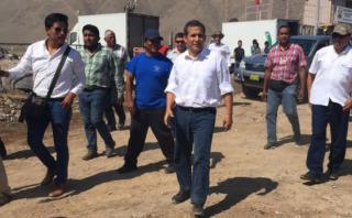 Humala defiende construcción de obra observada por contraloría