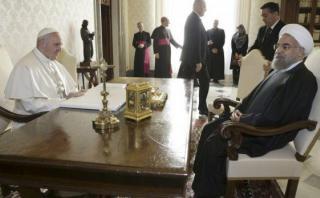 """El Papa pide a Irán """"políticas adecuadas"""" contra el terrorismo"""