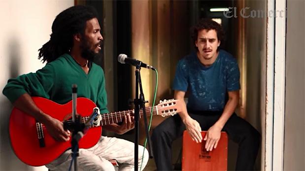 Una sesión acústica con La Renken [VIDEOS]
