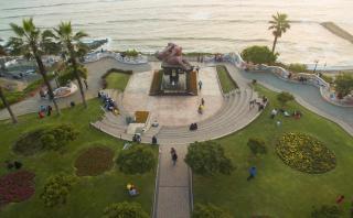 Miraflores empieza ruta turística en homenaje a Víctor Delfín