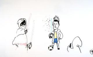 "Neymar: su vida graficada al estilo ""Star Wars"" [VIDEO]"