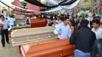 Piura: entre lágrimas El Faique despidió a su alcalde - Noticias de accidente de tránsito
