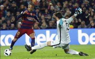 Neymar cerró victoria del Barza ante Athletic con este golazo