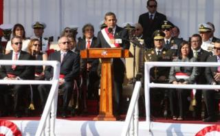 Humala encabezó ceremonia de conmemoración por fallo de La Haya