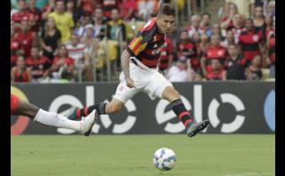 Con goles de Guerrero: Flamengo venció 2-0 a Mineiro