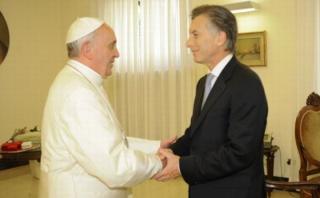 Macri visitará por primera vez al Papa desde que es presidente