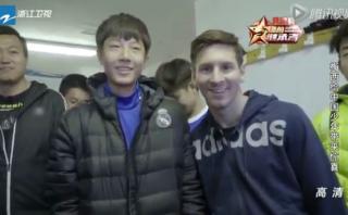 Lionel Messi: joven hincha del Real Madrid se negó a una foto