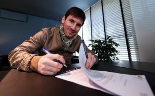 Lionel Messi: este sería su verdadero contrato con el Barcelona