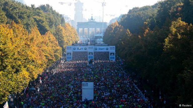 En 2013, 40.000 corredores tomaron la salida en la 40ª Maratón de Berlín. (Foto: Reuters)
